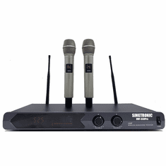 Singtronic UHF-350Pro Professional Dual UHF Wireless Microphone Karaoke System Newest Model: 2020 Super Sale Special