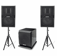 Vocal Speaker Packages Subwoofers