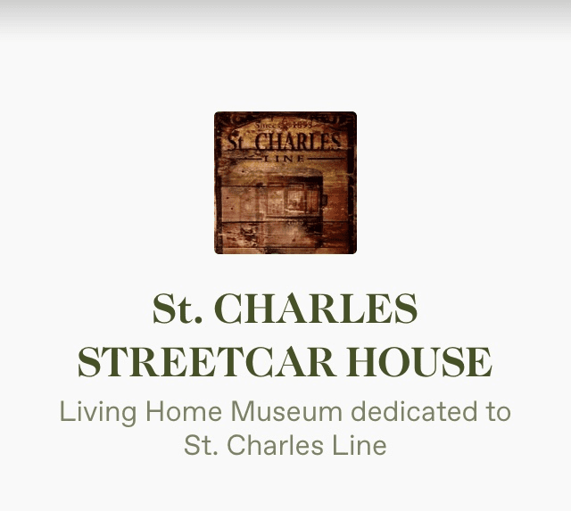 UCMDesigns | St. Charles Streetcar Line House Museum