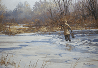 Duck Hunter: The Jump Shooter - original oil