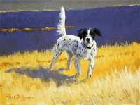 Setter: Prairie Light - original oil
