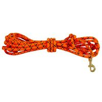 TBI Orange Check Cord Rope 3/8 in x 20 feet
