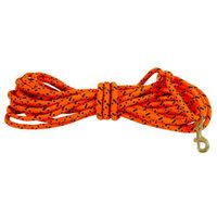 TBI Orange Check Cord Rope 3/8 in x 30 feet