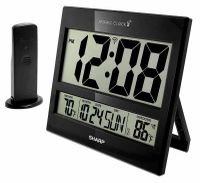 Sharp Digital Atomic Clock