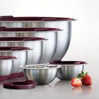Tramontina 14-Piece Stainless-Steel Mixing Bowls