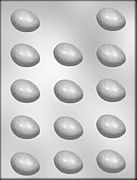 "1-1/2"" Plain Egg Chocolate Mold"