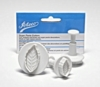 Ateco Set of 3 Leaf Sugarpaste Cutters