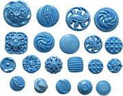 Button Set 2 by First Impressions Molds  (MN223)