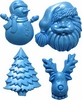 Christmas Set (SE263) by First Impressions Molds