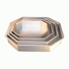 Corner Cut Rectangle Cake Pans by Fat Daddio's