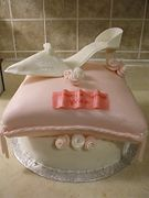 Enchanted Shoe and Pillow Cake by Just Cakes Barrie
