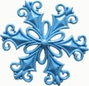 Filigree Snowflake by First Impressions Molds  (SE295)