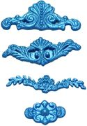 Lace, Border & Drop Molds by First Impressions Molds