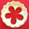 FMM Sugarcraft Blossom & Scallop Double Sided Cupcake Cutter  (CutCup1)