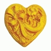 FMM Sugarcraft Heart Mold  (CutHeart)