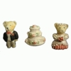 FMM Sugarcraft Wedding Bears Mold  (CutWTed)