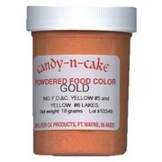 Gold Powdered Food Color, 18g by Candy-n-Cake