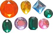 Assorted Gem Set 1 by First Impressions Molds  (GP101)