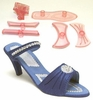 JEM Ladies High Heeled Shoe Cutters & Mold Set