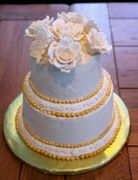 Jennifer Davidson Wedding cake