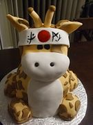 Kung Fu Giraffe by Just Cakes Barrie