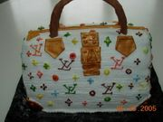 L.Hill - Louis Vitton Purse Cake