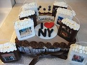 New York Shopping Bags Cake by Just Cakes Barrie
