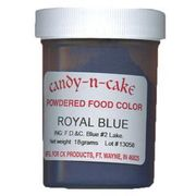 Royal Blue Powdered Food Color, 18g by Candy-n-Cake