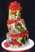 Tatoo Birthday Cake by Jessica Keller
