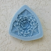 Triangle Rose Small Mold (SM-072) by Sunflower Sugar Art