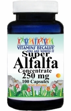 0057 Buy 1 Get 2 Free Super AlfAlfa Concentrate 250mg 100caps or (200caps Scroll Down)