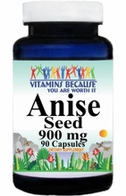 0095 Buy 1 Get 2 Free Anise Seed 900mg 90caps
