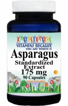 0187 Buy 1 Get 2 Free Asparagus Root Extract 175mg 90caps