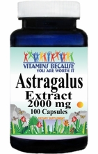 0194 Buy 1 Get 2 Free Astragalus Extract 2000mg 100caps or (200caps Scroll Down)