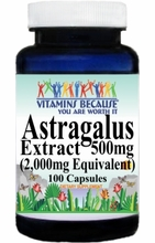 0194 Buy 1 Get 2 Free Astragalus Extract Equivalent 2000mg 100caps or (200caps Scroll Down)