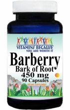 0231 Buy 1 Get 2 Free Barberry Bark of Root 450mg 90caps