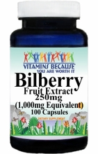 0309 Buy 1 Get 2 Free Bilberry Extract Equivalent 1000mg 100caps or (200caps Scroll Down)
