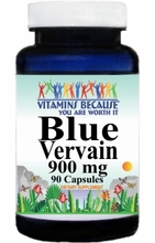 0460 Buy 1 Get 2 Free Blue Vervain 900mg 90caps
