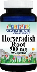 0491 Horseradish Root 900mg 90caps Buy 1 Get 2 Free