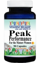 0514 Buy 1 Get 2 Free Peak Performance for the Mature Women 90caps