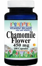 0699 Buy 1 Get 2 Free Chamomile Flower 450mg 100caps