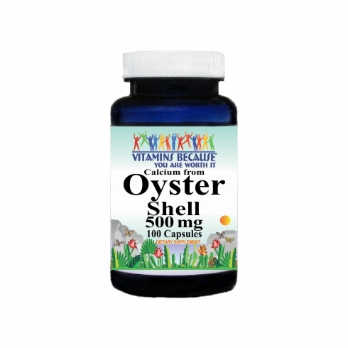 10131 Buy 1 Get 2 Free Oyster Shell 500mg 100caps or (200caps Scroll Down)