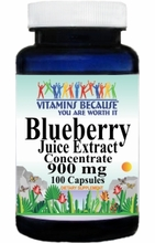 10179 Buy 1 Get 2 Free Blueberry Juice Extract Concentrate 900mg 100caps