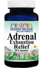10261 Buy 1 Get 2 Free Adrenal Exhaustion Relief 90caps