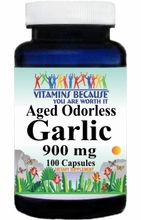 10292 Buy 1 Get 2 Free Odorless Aged Garlic Extract 900mg 100caps or (200caps Scroll Down)