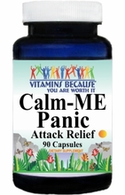 10483 Buy 1 Get 2 Free Calm-Me Panic Attack Relief 90caps