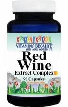 10643 Buy 1 Get 2 Free Red Wine Extract Complex 90caps