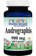 10896 Buy 1 Get 2 Free Andrographis 900mg 100caps or (200caps Scroll Down)