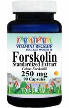 10957 Buy 1 Get 2 Free Forskolin 250mg 90caps or (180caps Scroll Down)