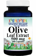 11114 Buy 1 Get 2 Free Olive Leaf Extract 500mg 100caps